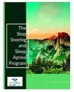 Stop Snoring And Sleep Apnea Program - Unbiased Review