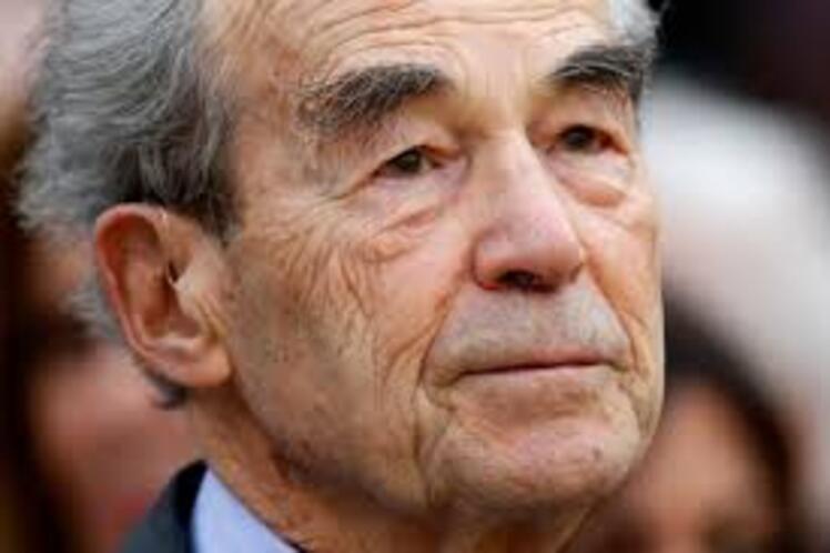 Robert Badinter , né le 30 mars 1928 à 06h00, Bélier ascendant Bélier