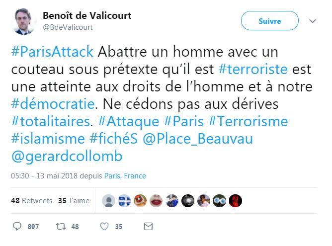 La sortie de Benoît de Valicourt !!!