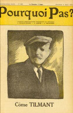 Côme Tilman, apparition mariale de Beauraing (Pourquoi pas 1933-08-04)(donum.uliege.be_expo_pourquoipas)