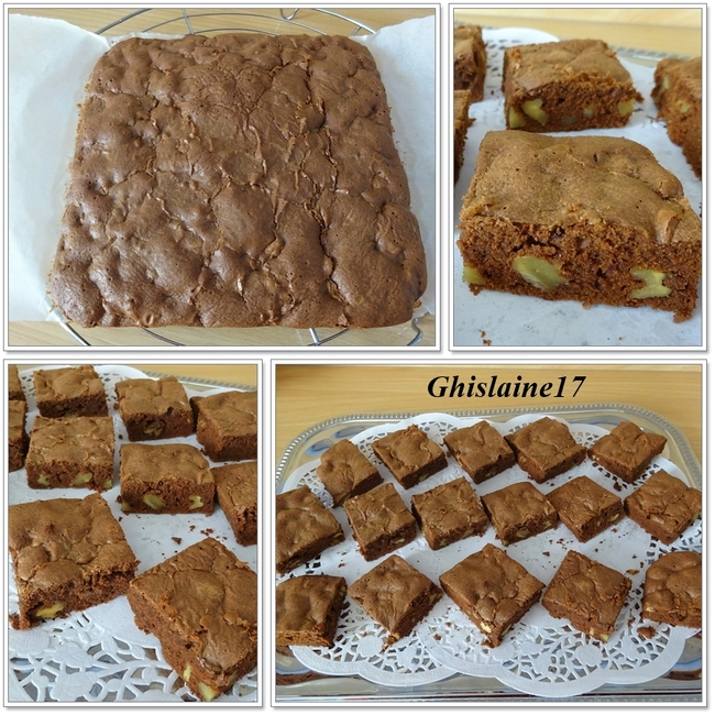 Brownies aux noix - 2ème