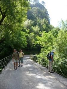 le pont sur la Siagne
