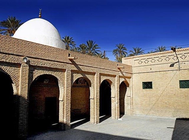 Mosquée de Nefta en briques