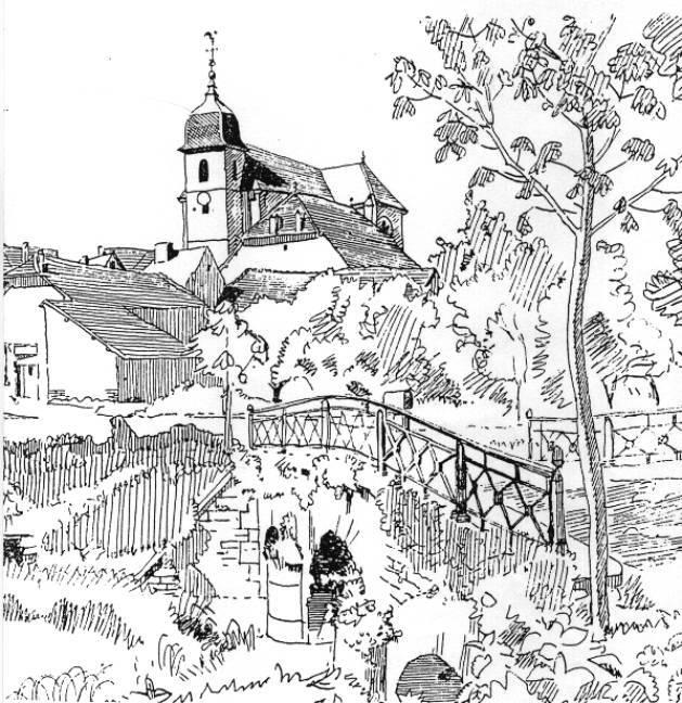 Eglise Lavernay par Abbé Garneret