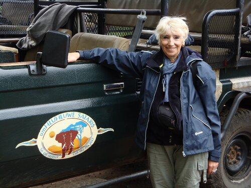Jacqueline en Afrique du sud