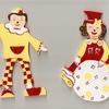 Clowns (rouge)