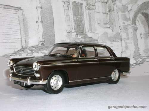 Peugeot 404 berline 1962