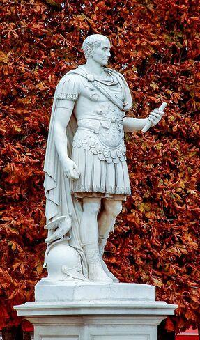 Marbre représentant César