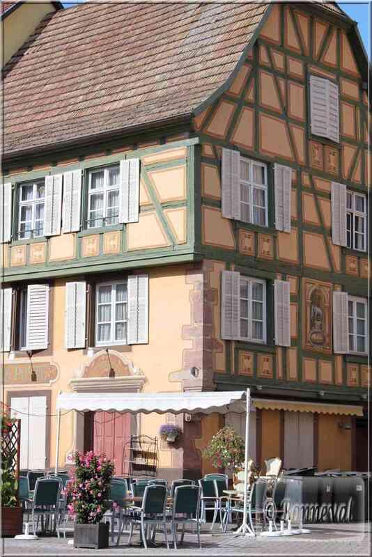 Alsace Haut-Rhin Route des Vins Ribeauvillé Auberge à l'Eléphant 1522