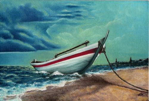 Petit bateau blanc