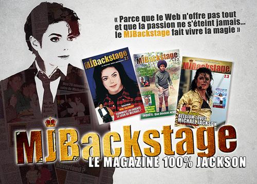 MJBackstage le magazine 100% Jackson