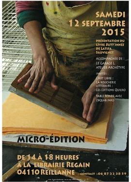 la Boucherie littéraire et la micro-édition