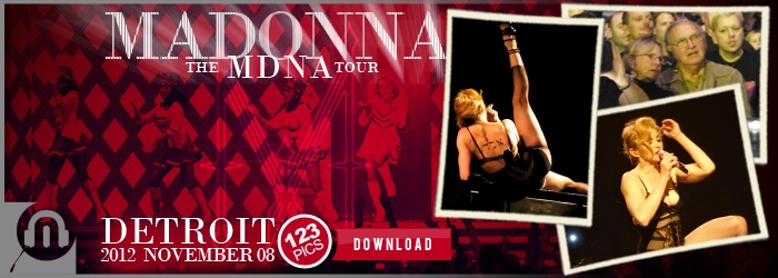 The MDNA Tour - Detroit - 123 Pictures