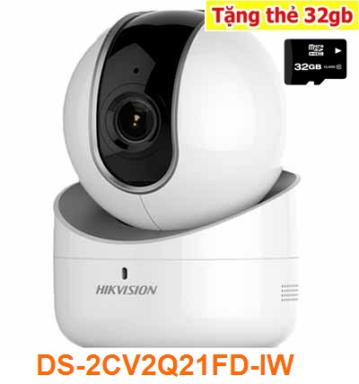 Lắp camera quuan sát wifi, lắp camera wifi hikvision,HIKVISION-DS-2CV2Q21FD-IW,DS-2CV2Q21FD-IW,2CV2Q21FD-IW,
