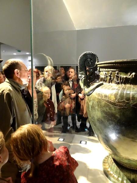 """""""La nuit des Musées"""" au Musée du Pays Châtillonnais-Trésor de Vix..."""