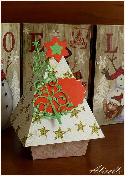 Petites boîtes de Noël