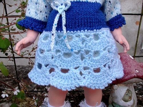 Sophia en tricot-crochet !