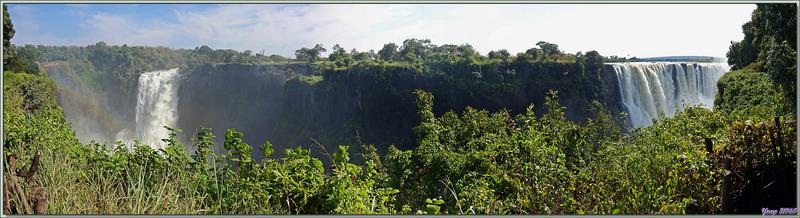 Main Falls (Chutes principales) - Chutes Victoria - Zimbabwe