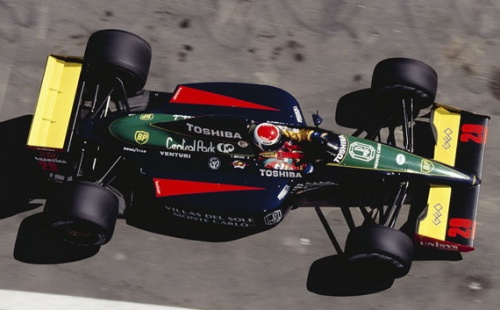 Team :Larrousse Ford - Ford Cosworth DFR 3.5L v8