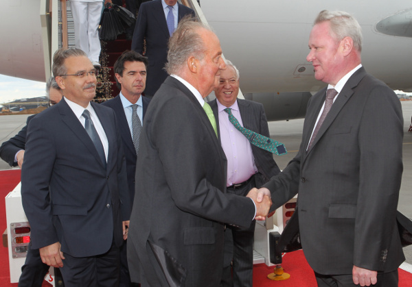 Juan Carlos à Moscou