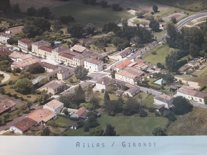 Commune et mairie de Aillas : Vie municipale