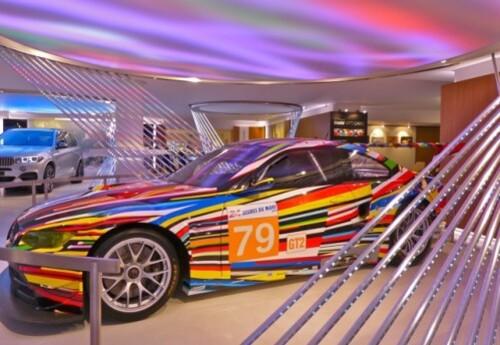 Jeff Koons BMW artcar 7