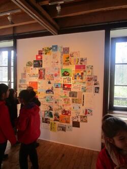 Vivite de l'exposition d'art postal