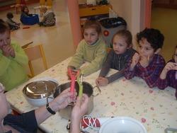 Atelier cuisine d esaison: la soupe au potiron