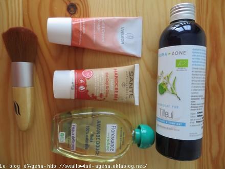 cosmétiques aromazone weleda