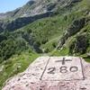 1ère zone d'Estaés début à la croix frontière numéro 280