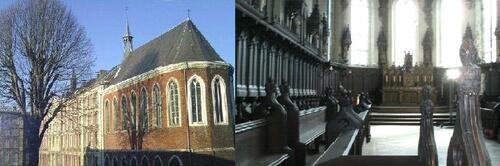 L'ancienne chapelle des Bénédictins anglais