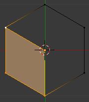 Sélectionner 4 vertices puis presser F pour faire la face 1