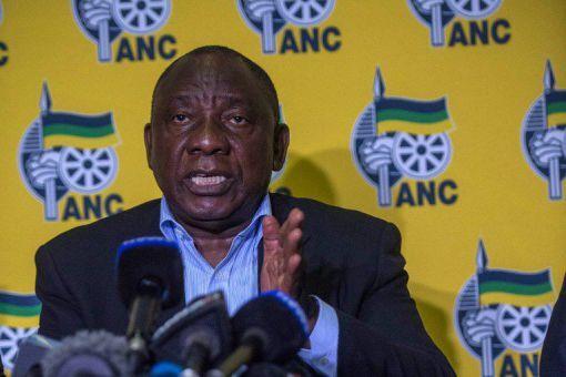 Le président sud-africain Cyril Ramaphosa 20 avril 2018