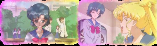 Ami et Usagi deviennent de grandes amies