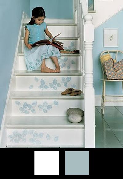 Les escaliers - Nuancier 6