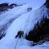 Cascade de glace (Le Claux)