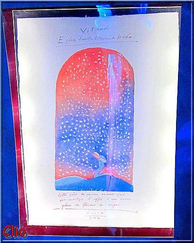 3 - Les vitraux de Jean-Michel Folon dans l'église de Waha - Partie 1 .