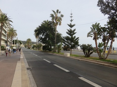balade vers Nice, pour le Festival du film Moto