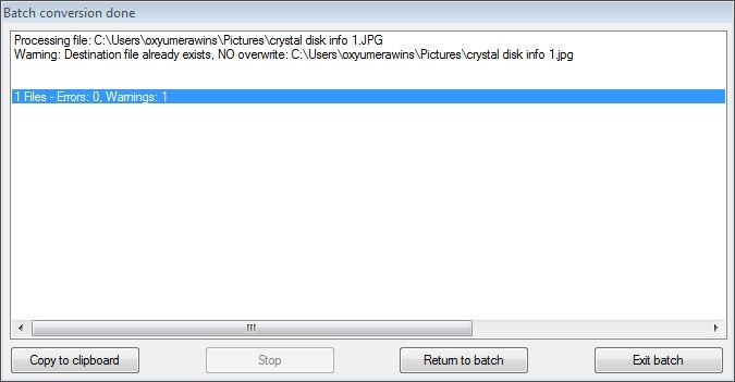 converted folder 0 error