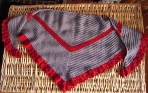 chale crochet 1