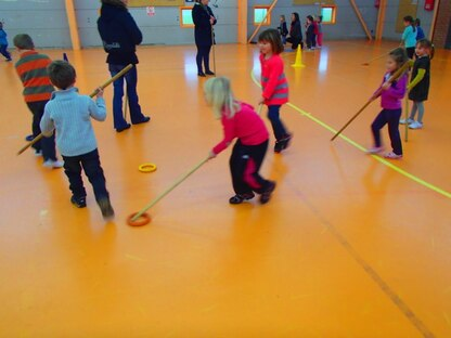 hockey avec Laurent