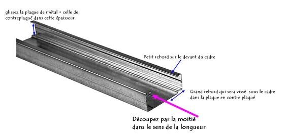 pèle-mêle métalique explication découpe Oska & co creat