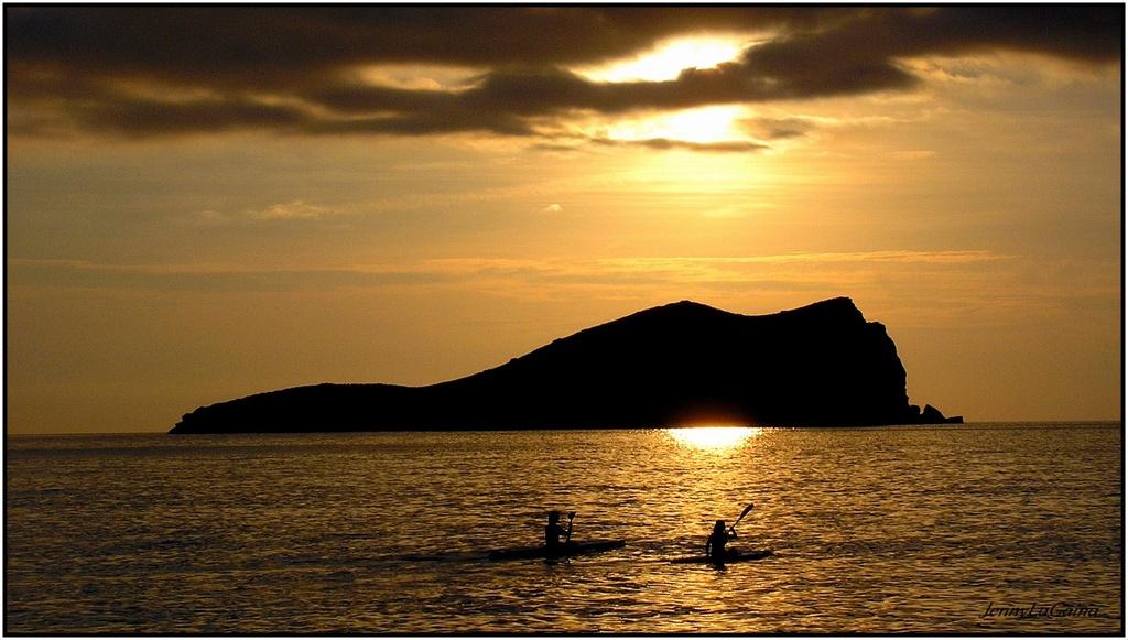 Ibiza - Coucher de soleil