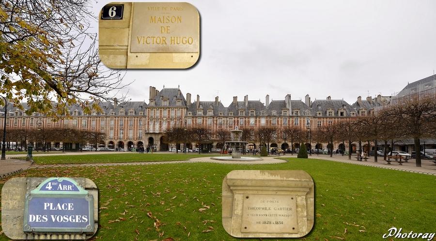 Paris - Paris - Île de France - Place des Vosges