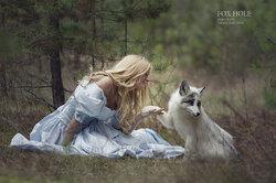 La photographe russe Darya Kondratyeva nous transporte dans un conte féerique et enchanteur