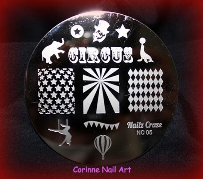 Plaques stamping NAILZ CRAZE !