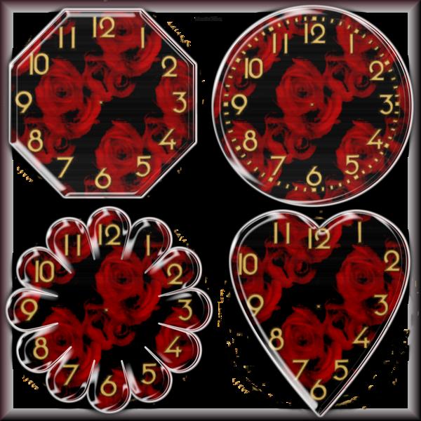 Tubes cadrants d'horloge 2965