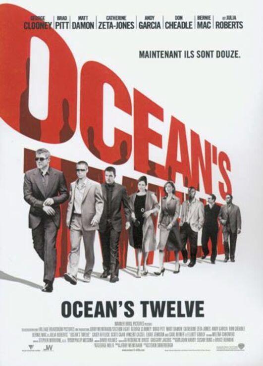 OCEAN'S TWELVE BOX OFFICE 2004