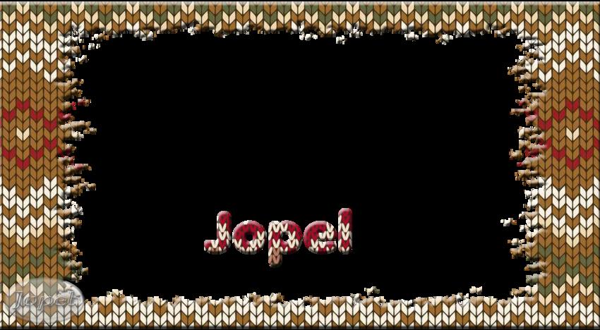 J'ai tricoté toute la journée des cadres tricots par Jopel
