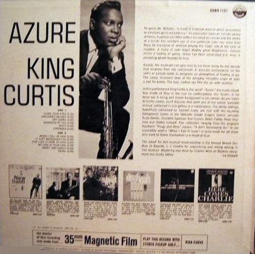 "King Curtis & His Orchestra : Album "" Azure "" Everest Records SDBR 1121 [ US ]"